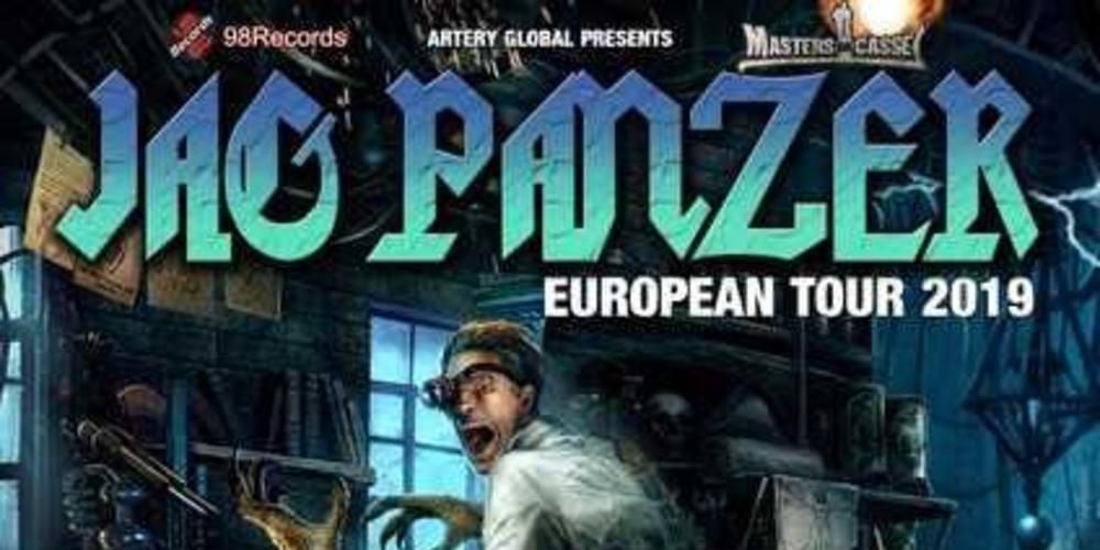Tickets Jag Panzer + Idle Hands + Mesmerized in Kassel, Live in der Goldgrube am 21. Mai 2019 in Kassel