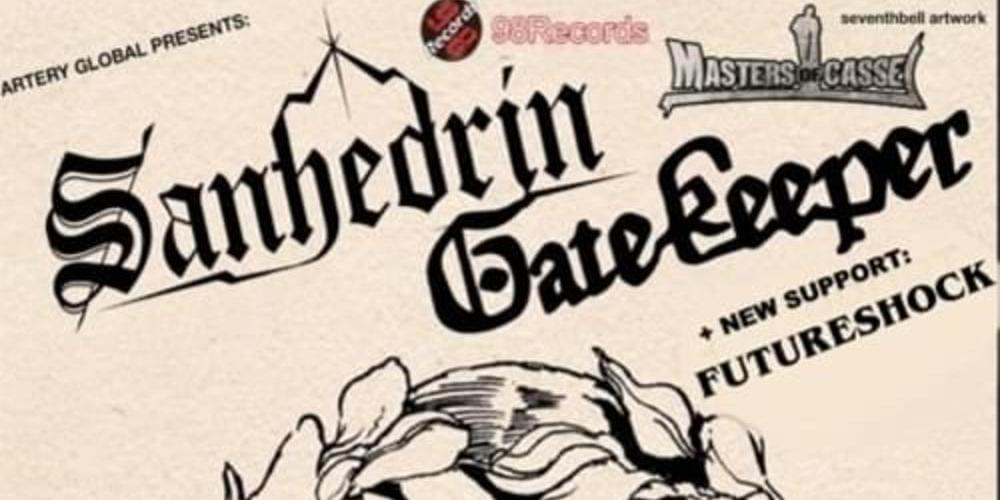 Tickets Sanhedrin + Gatekeeper + FutureShock in Kassel, Live in der Goldgrube am 4. März 2019 in Kassel